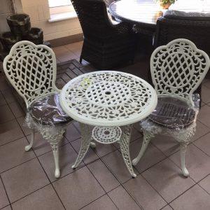 2 seater bistro table set MCA 262 CRC