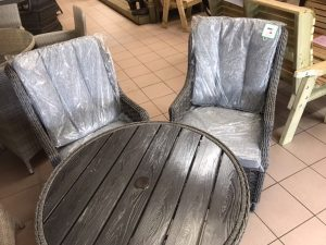 Amalfi 2 seater garden set