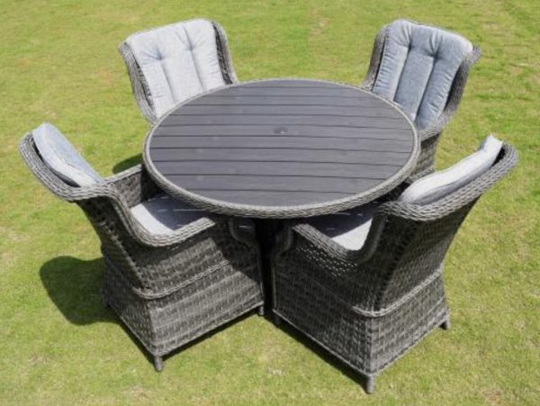 Amalfi 4 seater garden set