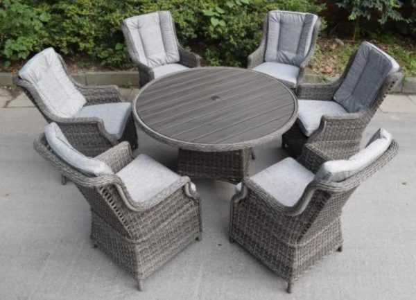 Amalfi 6 seater garden set