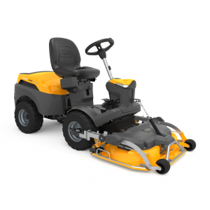 Park 345 P W X four wheel drive out front mower stiga