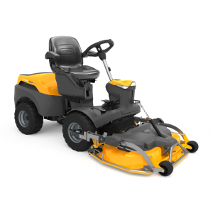 Park 740 P W X four wheel drive out front stiga mower