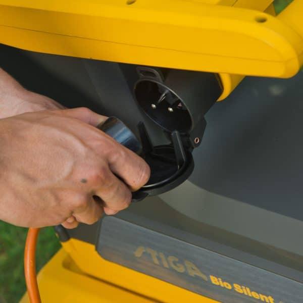 Bio Silent 2500 electric chipper shredder Stiga