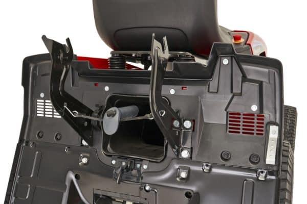 Freedom 30 e battery powered ride on mountfield mower