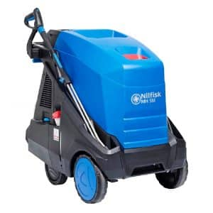 Industrial hot pressure washers