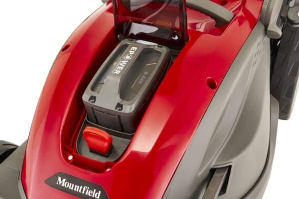 Princess 42 li kit battery powered lawnmower mountfield