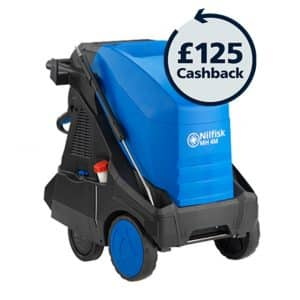 Nilfisk MH4 Hot industrial pressure washer promotion £125 cash back